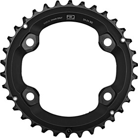 Shimano Deore FC-M6000-2 Chain Ring 10-speed BE black